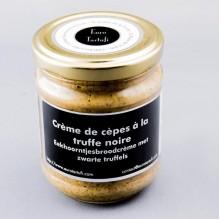 Crème de cèpes à la truffe noire
